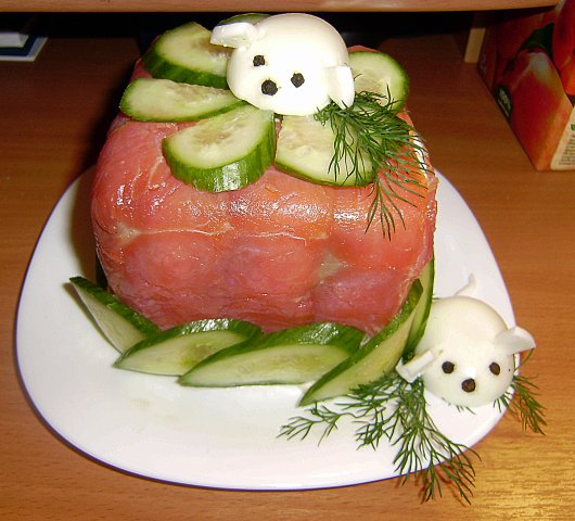 Рецепты рыбный торт с фото