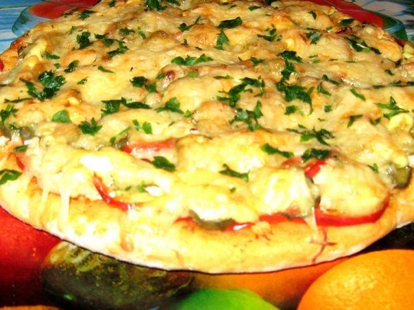 с рецепты фото из кислого молока пицца