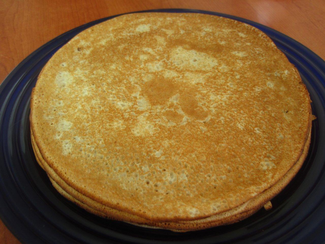 Блины на кефире - Вкусный рецепт тонких блинов на кефире 21
