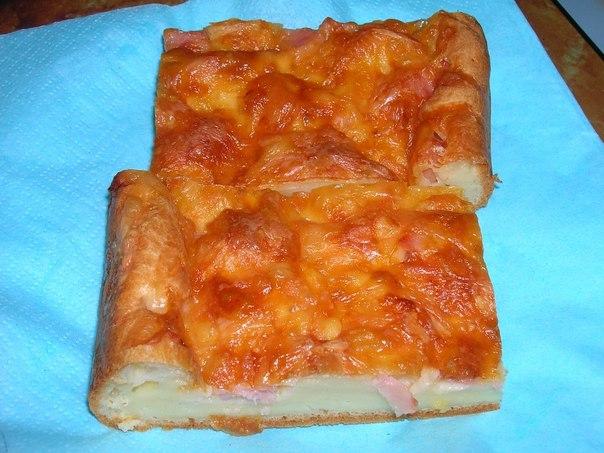Рецепт выпечка с сыром на скорую руку