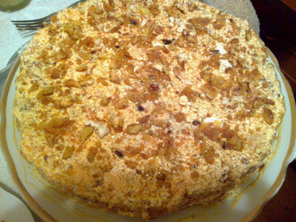 Торт мария рецепт с фото