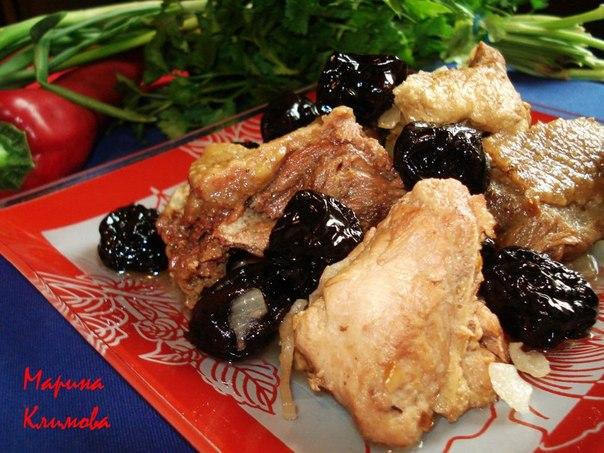 Рецепты гуся с черносливом