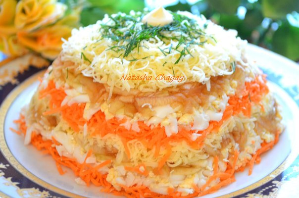 Легкие салаты с яблоком рецепты простые и вкусные